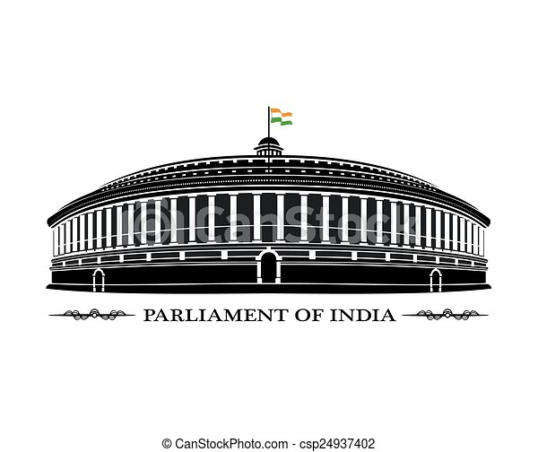 議會, 印度 - csp24937402