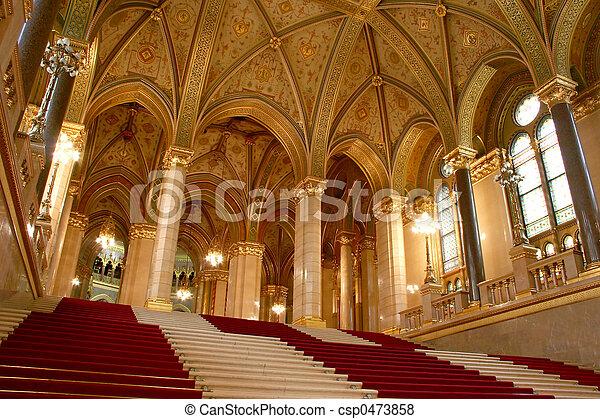 議會, 布達佩斯 - csp0473858