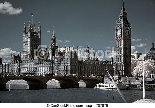 議會, ben, 房子, 英國, 大, 倫敦 - csp11707879