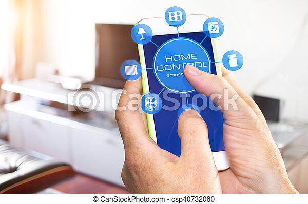 设备, 家, 控制, -, 聪明 - csp40732080