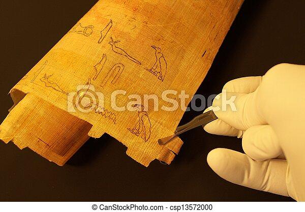象形文字, エジプト人 - csp13572000