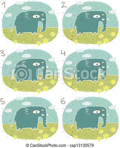 象, ゲーム, ビジュアル - csp13130579