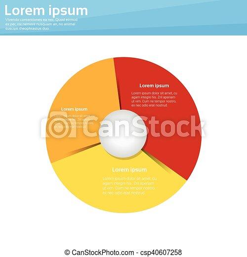 財政, 金融, ビジネス, グラフ, パイ, 図, infographic, 円 - csp40607258