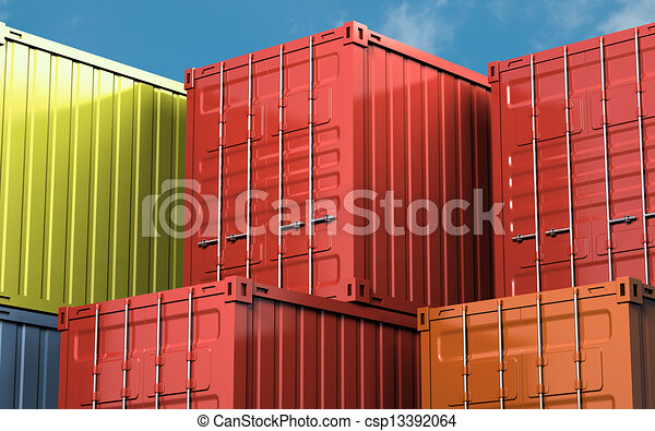 貨物容器 - csp13392064