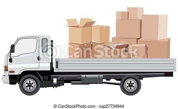 貨物, 交通機関 - csp27734944