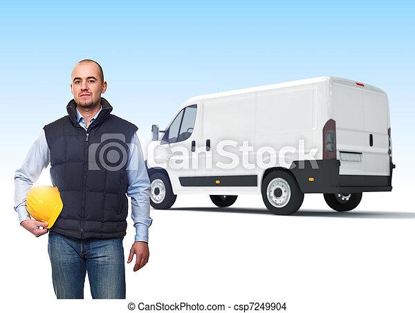 貨物, 産業 - csp7249904
