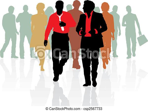 販売の人々, 若い, チーム - csp2567733