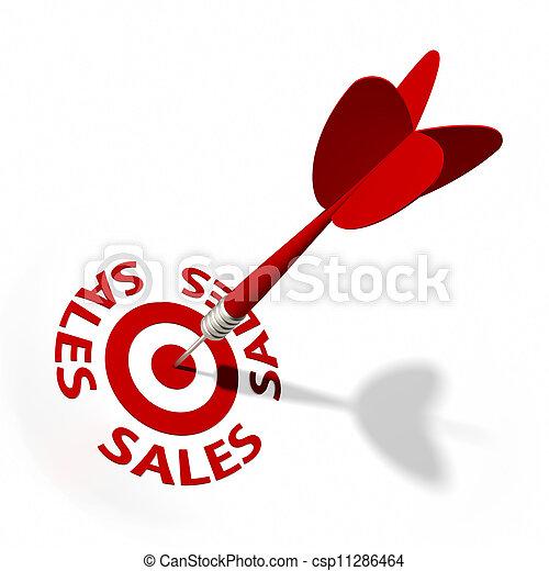 販売, ターゲット - csp11286464