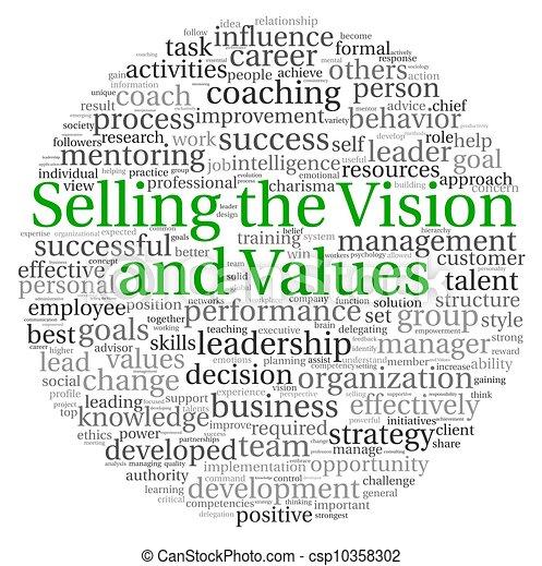 販売, 単語, タグ, 概念, 雲, ビジョン - csp10358302
