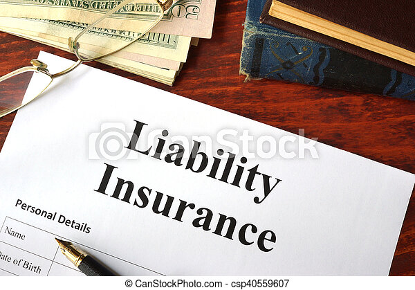 責任, 保険 - csp40559607