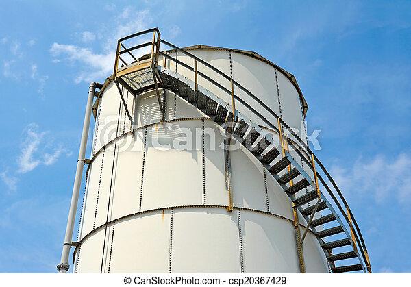 貯蔵, 産業, タンク - csp20367429