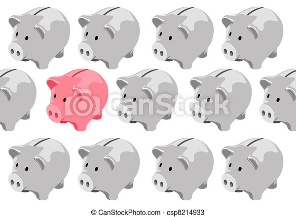 貯金箱 - csp8214933