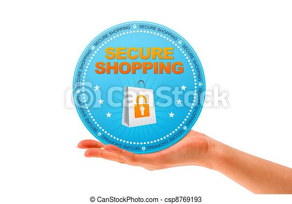 買い物, 安全である - csp8769193