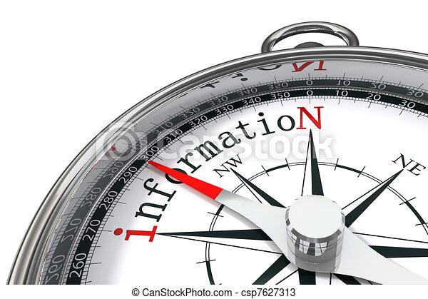 資訊, 概念, 指南針 - csp7627313