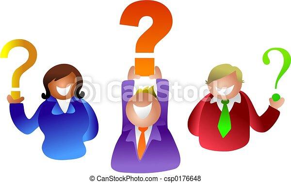 質問, 人々 - csp0176648