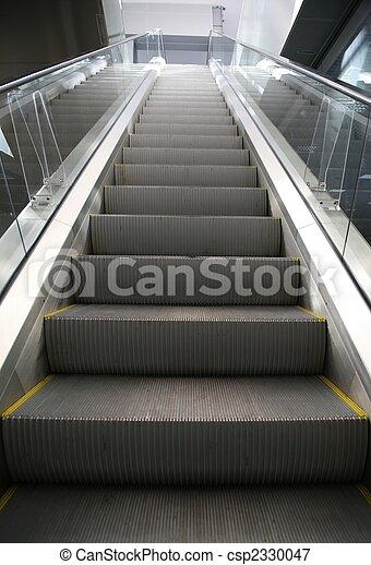 購物中心, 電動扶梯 - csp2330047