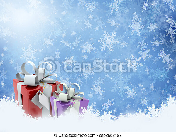 贈り物, クリスマス - csp2682497