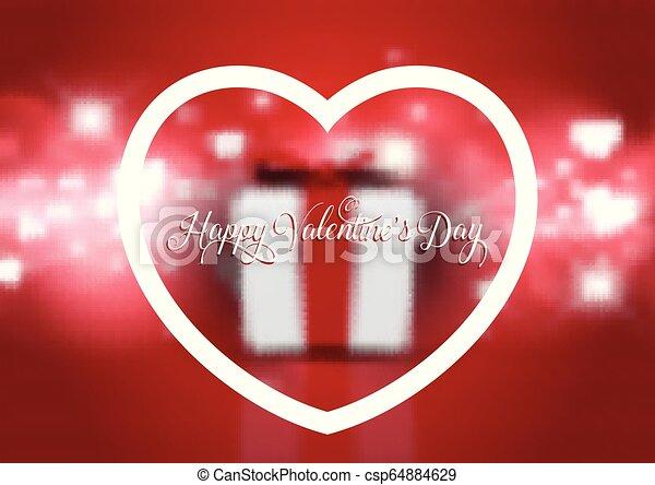 贈り物, 3012, バレンタイン, defocussed, 背景, 日 - csp64884629