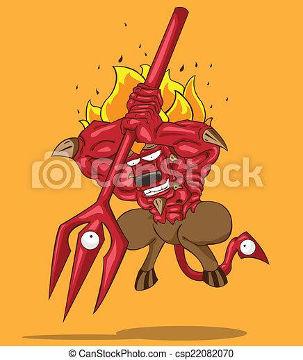 赤い悪魔 - csp22082070