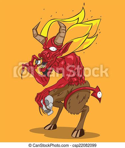 赤い悪魔 - csp22082099