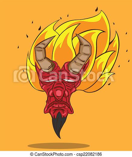 赤い悪魔 - csp22082186