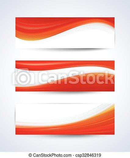 赤い白, 旗 - csp32846319