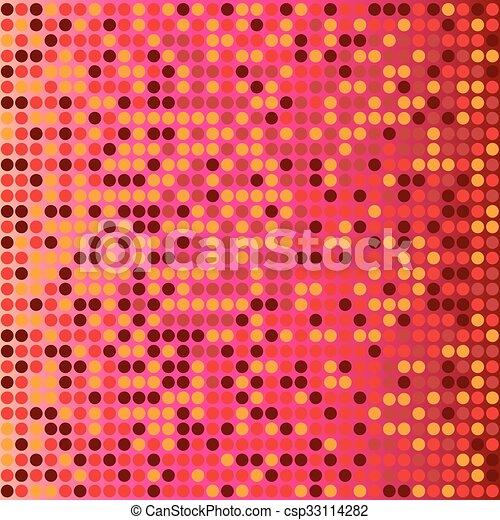 赤い背景, ディスコ - csp33114282