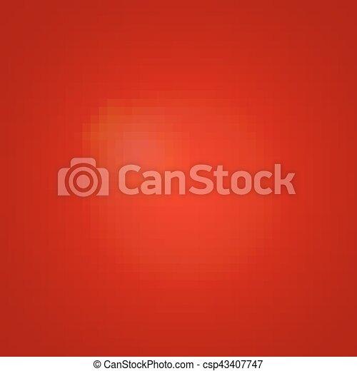 赤い背景, 白熱 - csp43407747