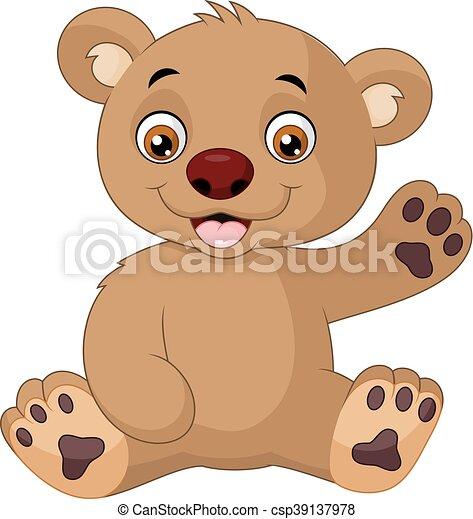 赤ん坊 かわいい 漫画 熊 かわいい イラスト ベクトル 熊 赤ん坊