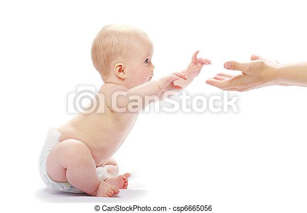 赤ん坊 - csp6665056