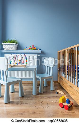 赤ん坊, 流行, わずかしか, スペース - csp39583035