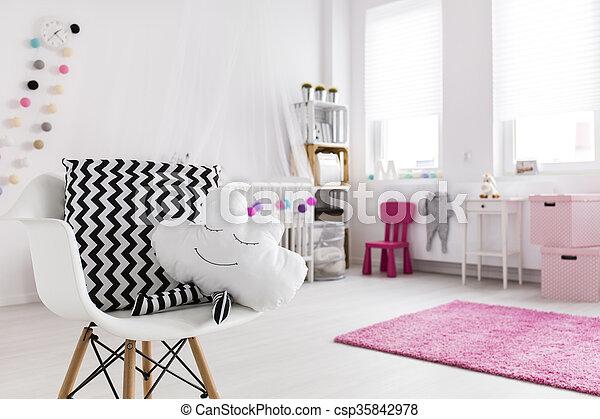 赤ん坊, 装飾, 現代 - csp35842978