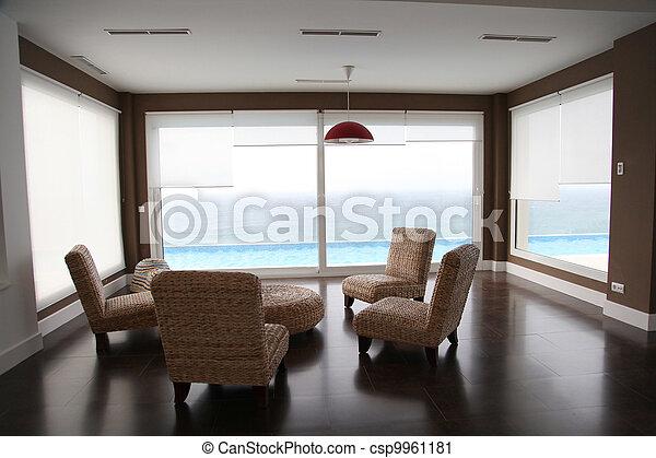 起居室, 一般, 看法 - csp9961181