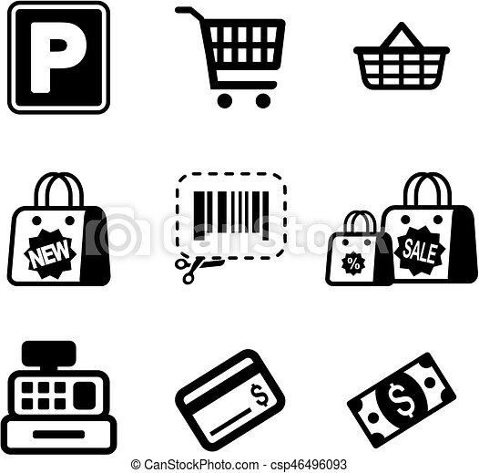 超級市場, 圖象 - csp46496093