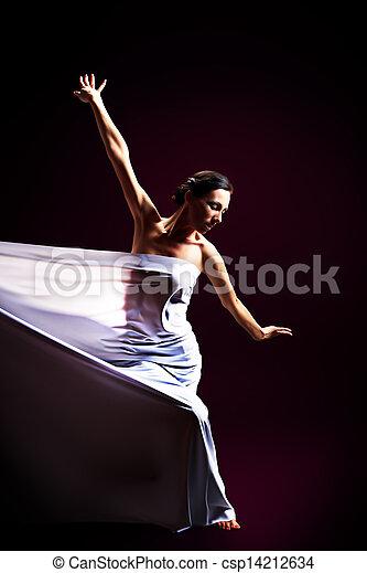 跳舞, 織品 - csp14212634