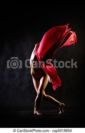 跳舞, 裸体 - csp5018654