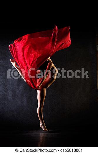 跳舞, 裸体 - csp5018801