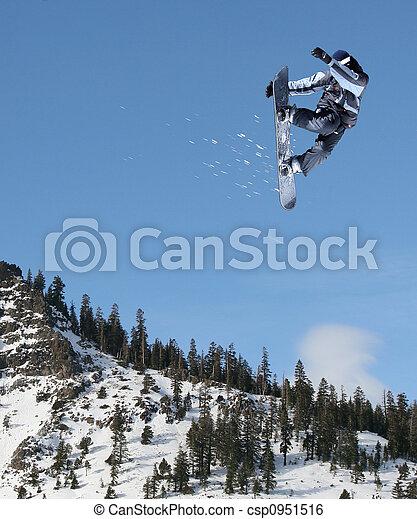 跳躍, スノーボーダー - csp0951516