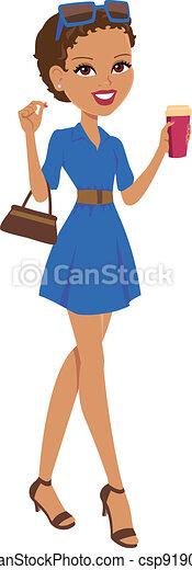 身に着けていること, 女の子, 服 - csp9190855