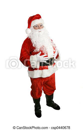 身體, 充分, 聖誕老人 - csp0440678