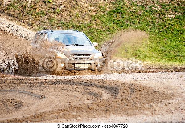 車, オフロード - csp4067728