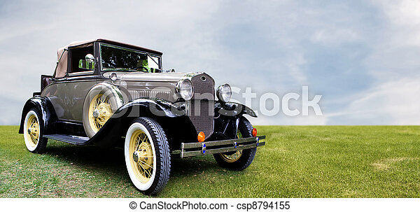 車。, レトロ - csp8794155