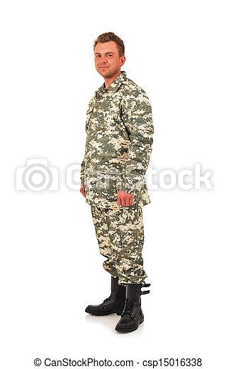 軍, 人 - csp15016338