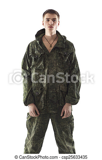 軍, 人 - csp25633435