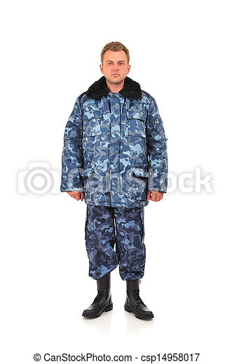 軍, 人 - csp14958017