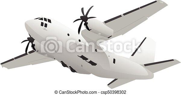 軍 航空機 輸送 イラスト 貨物 重い 貨物 リフト イラスト