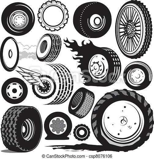 輪胎, 彙整 - csp8076106
