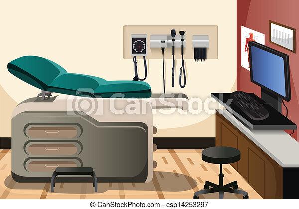 辦公室, 醫生 - csp14253297