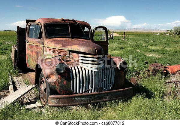 農場, トラック, クラシック - csp0077012