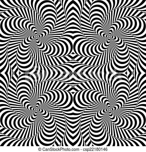 运动 设计 背景 单色 幻想 漩涡 背景 摘要 描述 扭曲 运动 背景 设计 剥去 单色 Vector Art 幻想 漩涡 Canstock